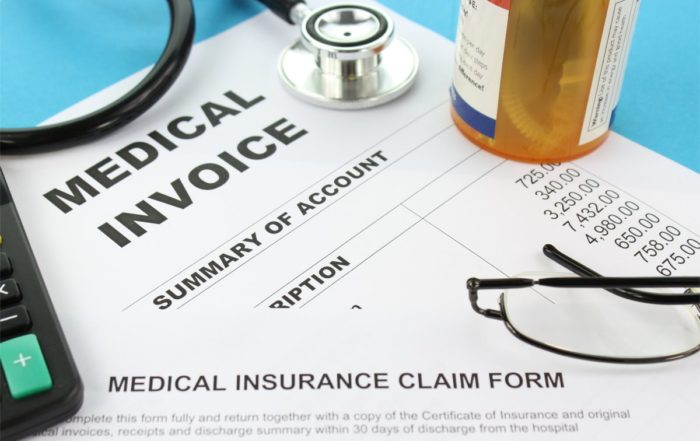 medical billing invoice