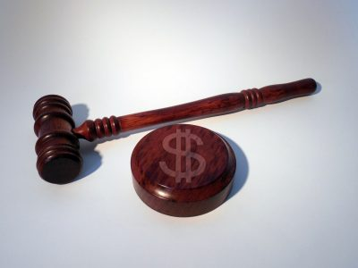 monetary fine gavel