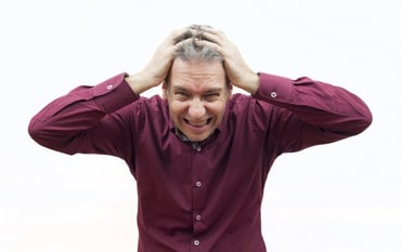 man stressed to no end - medical billing services concept